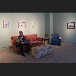 Installation view of Make Yourself at Home
